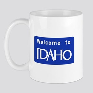 Welcome to Idaho - USA Mug