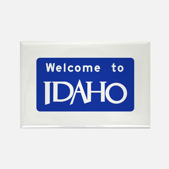 Welcome to Idaho - USA Rectangle Magnet