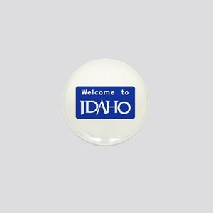 Welcome to Idaho - USA Mini Button
