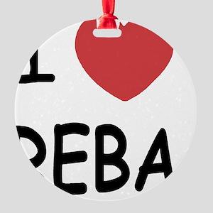 REBA Round Ornament