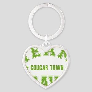 cougar-town_team-travis Heart Keychain