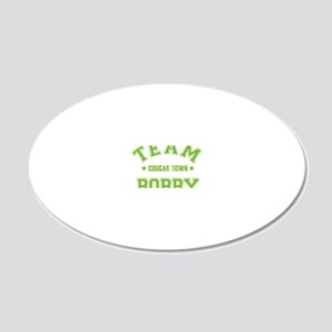 cougar-town_team-bobby 20x12 Oval Wall Decal