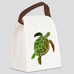 swimmingturtle Canvas Lunch Bag