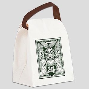 kabukimask3 Canvas Lunch Bag