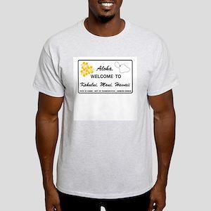 Welcome to Hawaii - USA Ash Grey T-Shirt