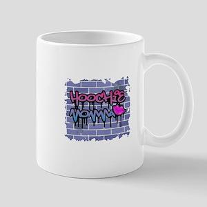 "Graffiti Style ""Hoochie Momma"" Design Mug"