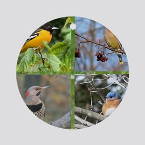 Song Birds Round Ornament