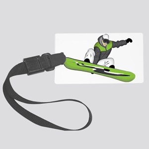 SnowboarderPocket Large Luggage Tag