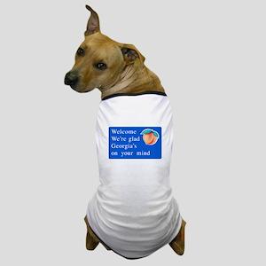 Welcome to Georgia - USA Dog T-Shirt