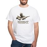 Vengeful White T-Shirt