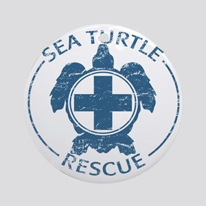 seaturtlerescue Round Ornament