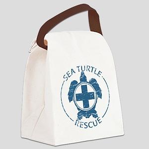 seaturtlerescue Canvas Lunch Bag