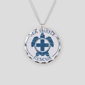 seaturtlerescue Necklace Circle Charm