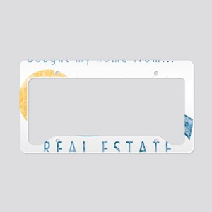cougar-town_retro-jules-real- License Plate Holder