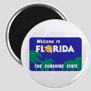 Welcome to Florida - USA Magnet
