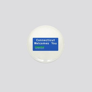 Welcome to Connecticut - USA Mini Button