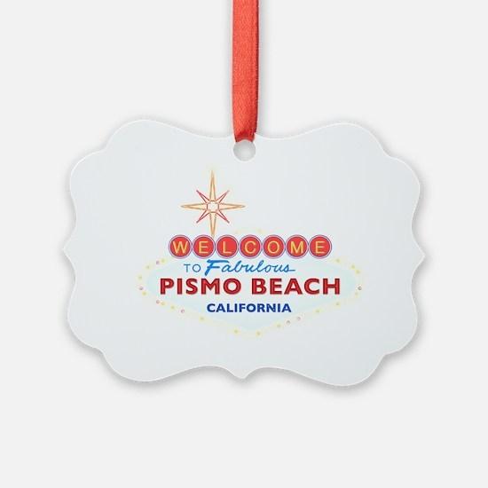 2-PISMO BEACH Ornament