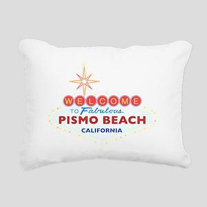 2-PISMO BEACH Rectangular Canvas Pillow