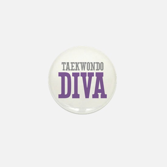 Taekwondo DIVA Mini Button