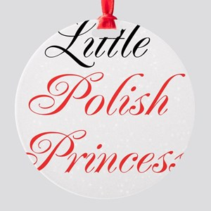 Little Polish Princess Round Ornament