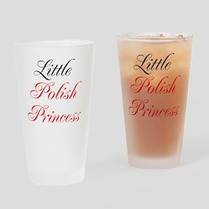 Little Polish Princess Drinking Glass