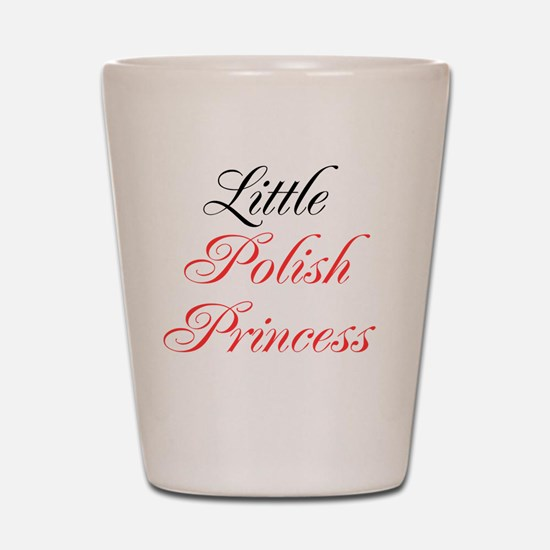 Little Polish Princess Shot Glass
