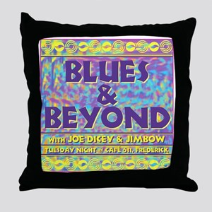 BB1 Throw Pillow