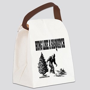 Hung Like a Sasquatch Canvas Lunch Bag