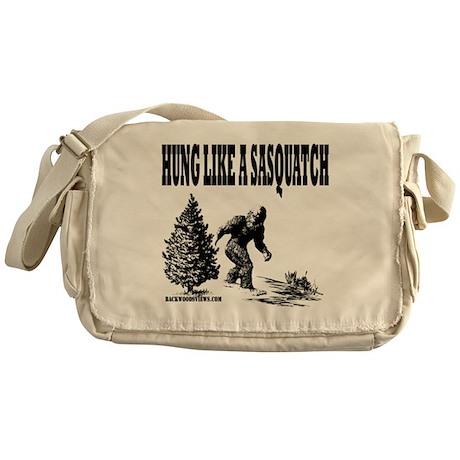Hung Like a Sasquatch.gif Messenger Bag