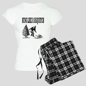Hung Like a Sasquatch Women's Light Pajamas