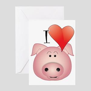 I_lovep Greeting Card
