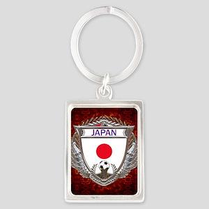 Japan Soccer Keepsake Box Portrait Keychain