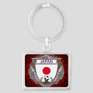 Japan Soccer Keepsake Box Landscape Keychain