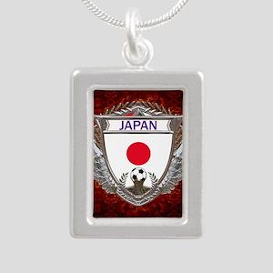 Japan Soccer Keepsake Bo Silver Portrait Necklace