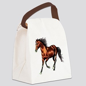 Bay Horse, Dreamer Canvas Lunch Bag