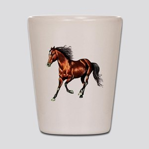Bay Horse, Dreamer Shot Glass
