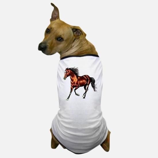 Bay Horse, Dreamer Dog T-Shirt
