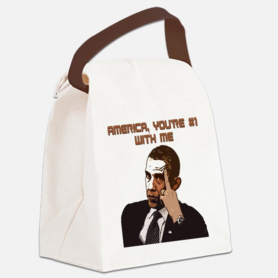 number1 Canvas Lunch Bag
