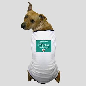 Welcome to Alabama - USA Dog T-Shirt