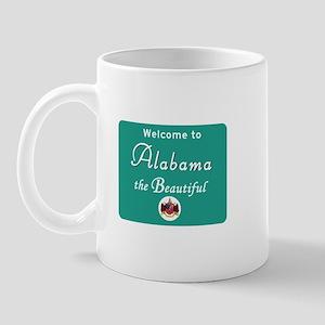 Welcome to Alabama - USA Mug