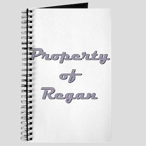 Property Of Regan Female Journal