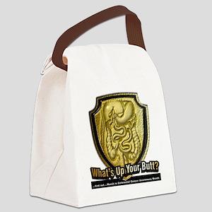 Colon 12x12 bkgd Canvas Lunch Bag