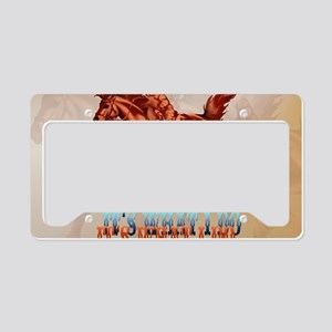 Barrel Racing_Its what I do - License Plate Holder