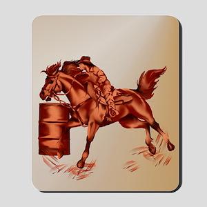 Barrel Racing _journal Mousepad