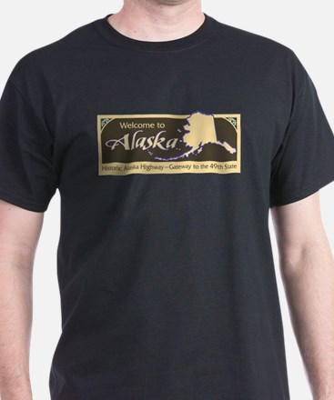 Welcome to Alaska - USA T-Shirt