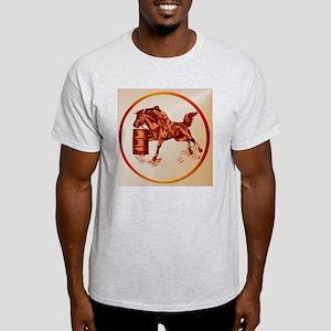 Barrel Racing -Circle Light T-Shirt
