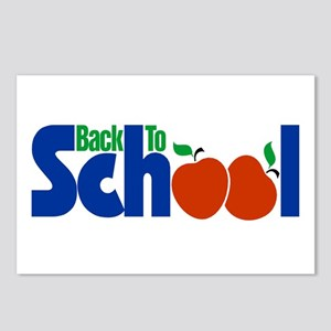 Back to School - Apples Postcards (Package of 8)