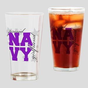 Proud Navy GF Stars Drinking Glass