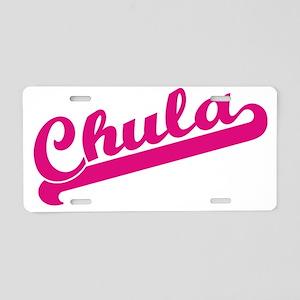 Chula cp Aluminum License Plate