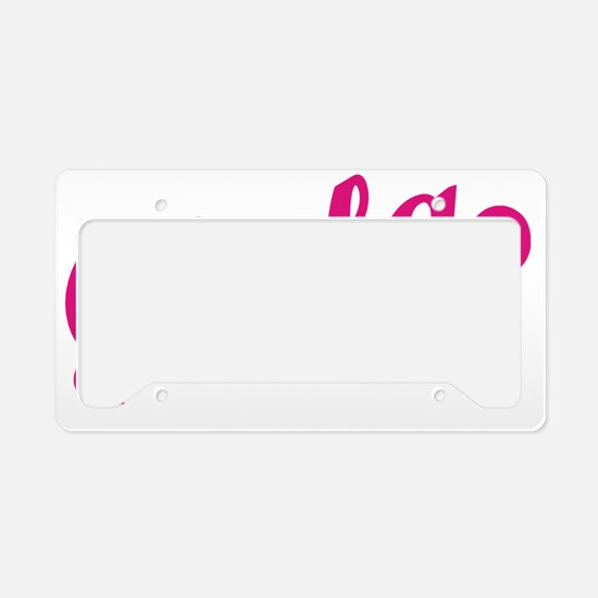 Chula cp License Plate Holder